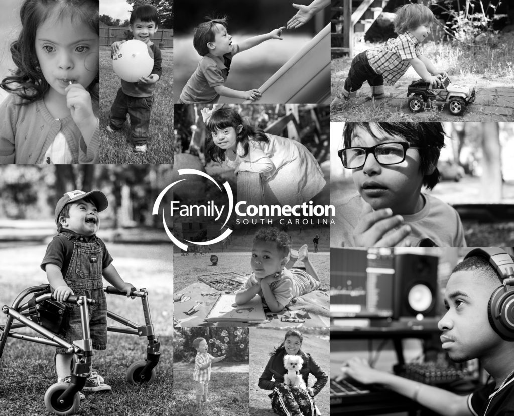 collage of many different children