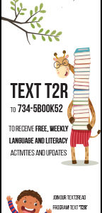 a text 2 read bookmark